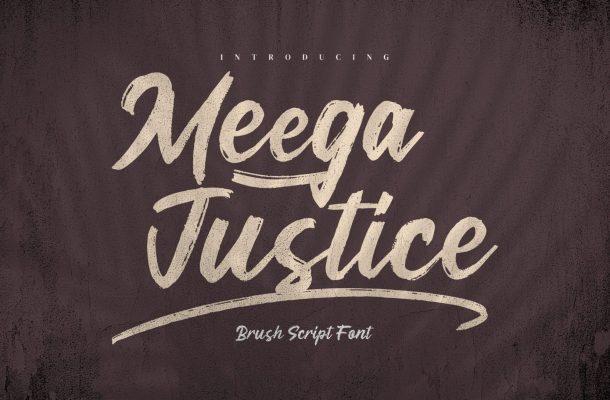Meega Juctice Font