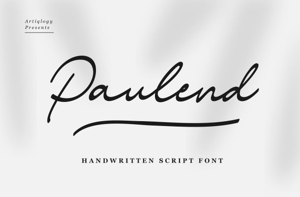 Paulend Font