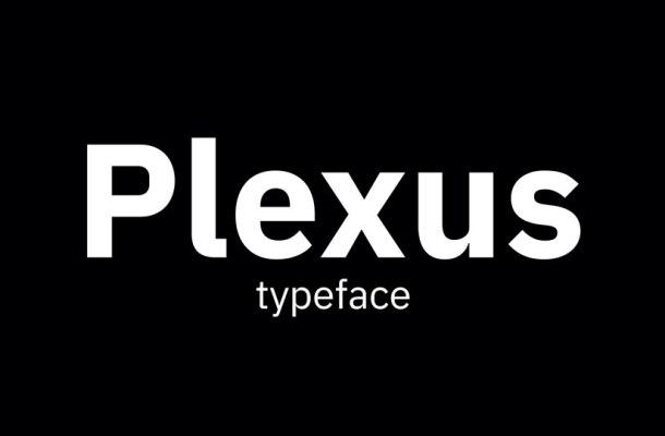 Plexus-Font-Family