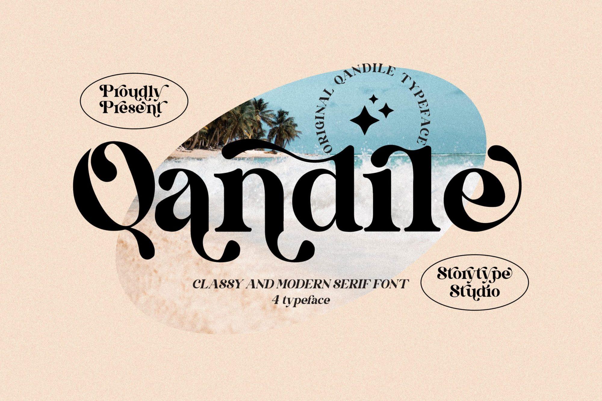 Qandile-Font
