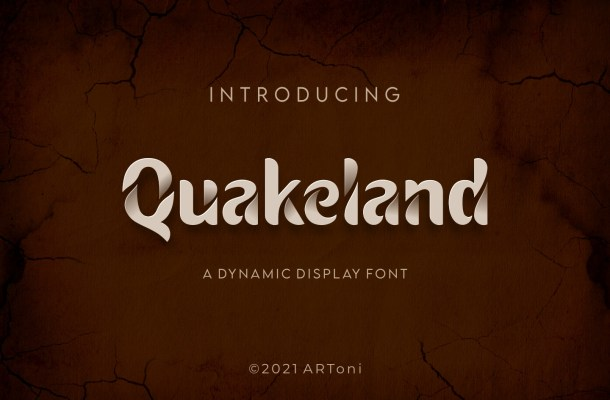 Quakeland Font