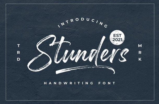 Stunders-Font