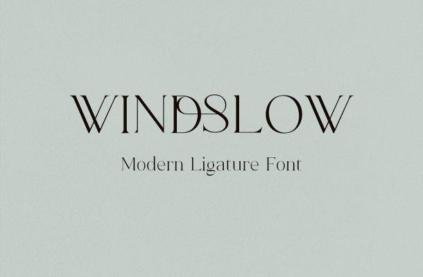 Windslow-Font