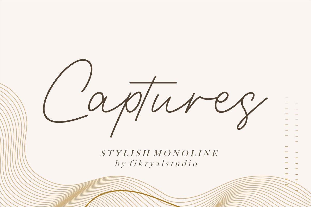 Captures-Font
