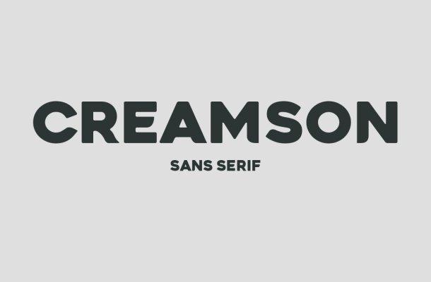 Creamson Font