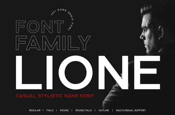 Lione Font Family