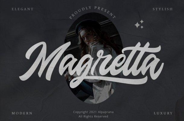 Magretta Font