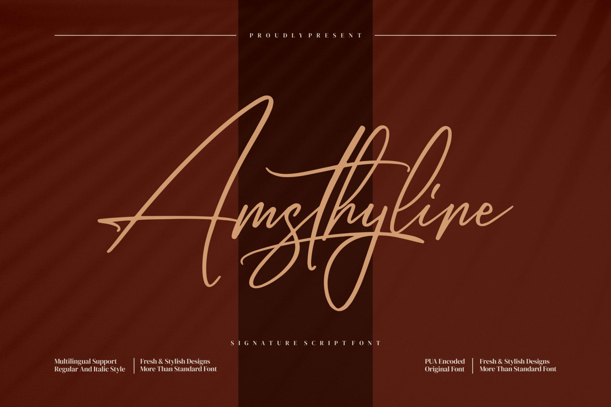 Amsthyline-Font