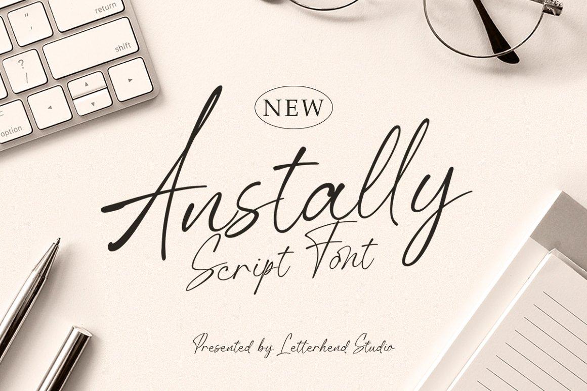 Anstally-Font