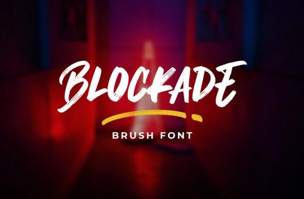 Blockade Font