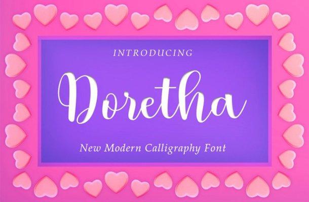 Doretha-Font