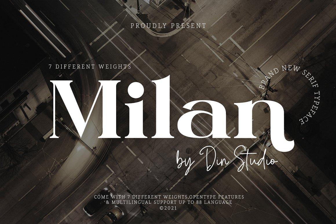 Milan-Font