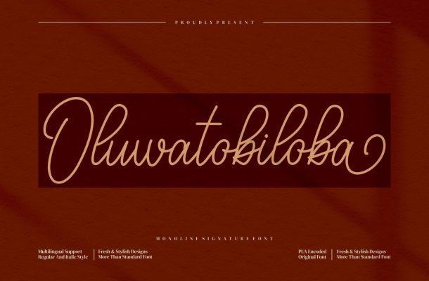Oluwatobiloba Font