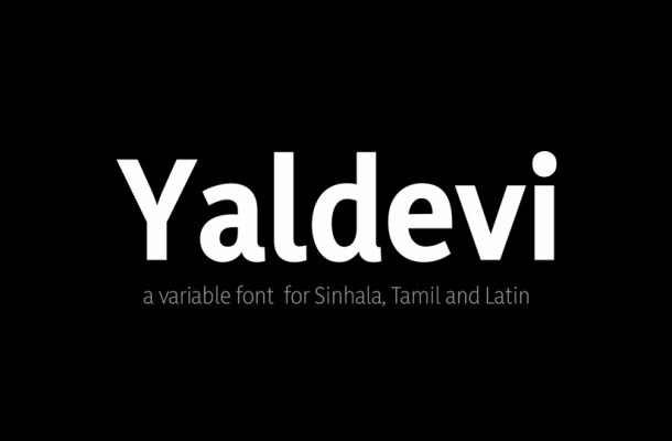 Yaldevi Sans Serif Font
