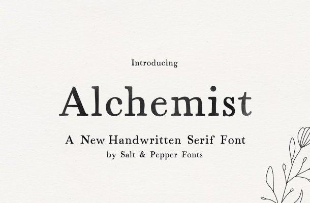 Alchemist Font