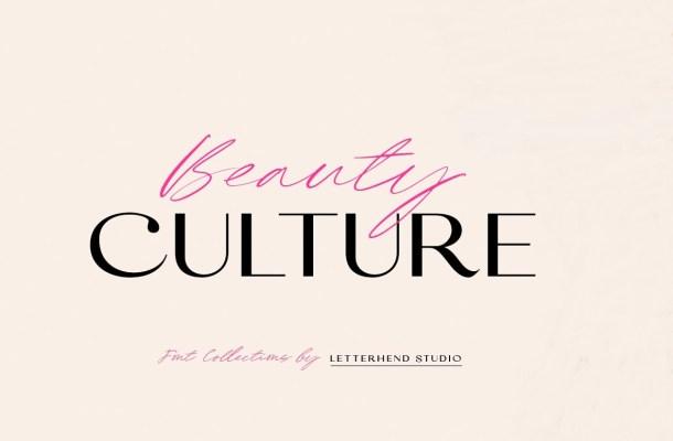Beauty Culture Font