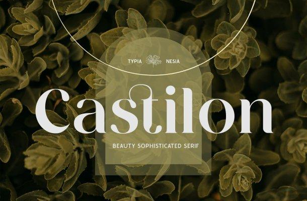 Castilon Serif Font