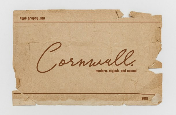 Cornwall Font