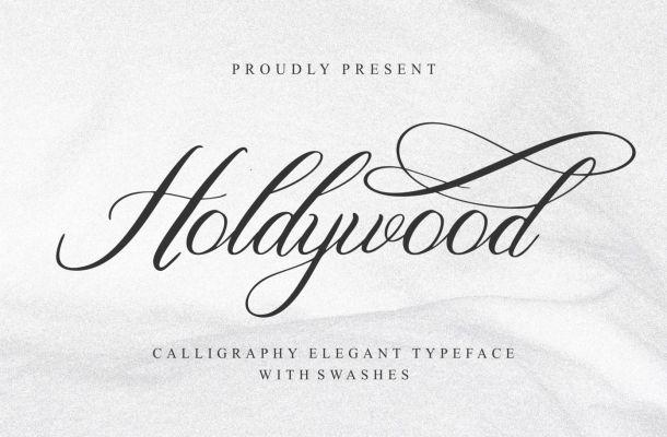 Holdywood Font