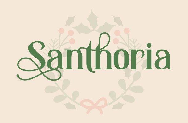 Santhoria Font