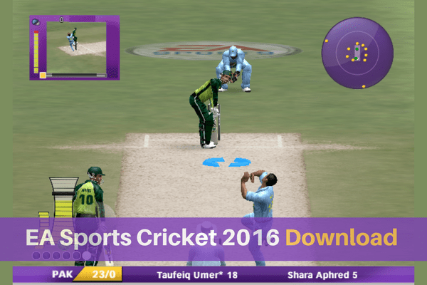 Download EA Sports Cricket 2016 for PC