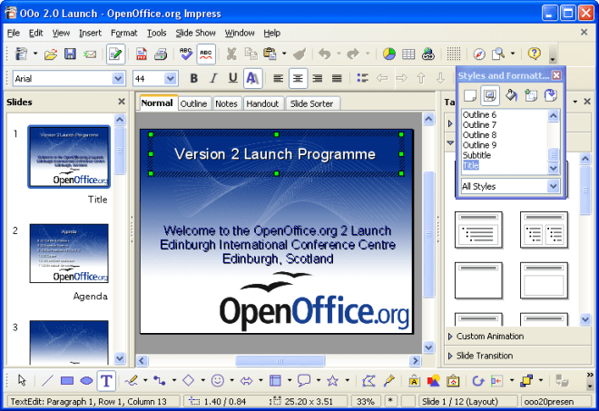 download open office for windows pc, linux, mac os and