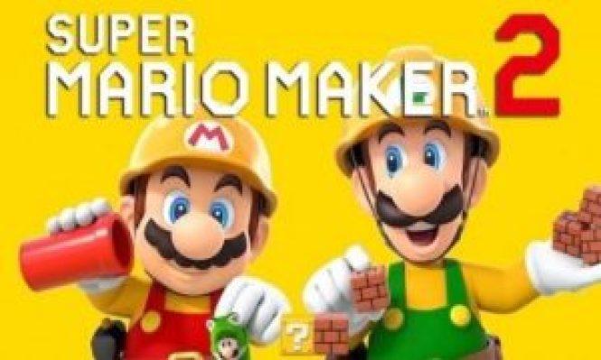 Super Mario Maker 2 game