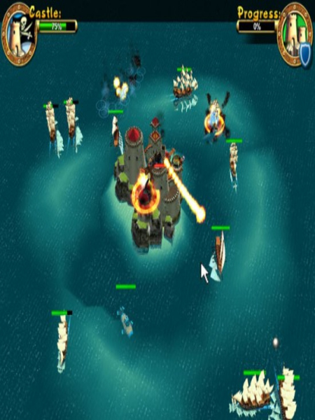 Download Pirates Battle For Caribbean Highly Compressed
