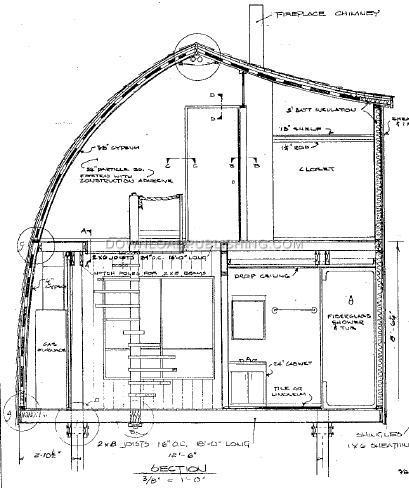 A-FRAME ARCH RAFTER CABIN HOUSE PLANS BLUEPRINTS LAKE