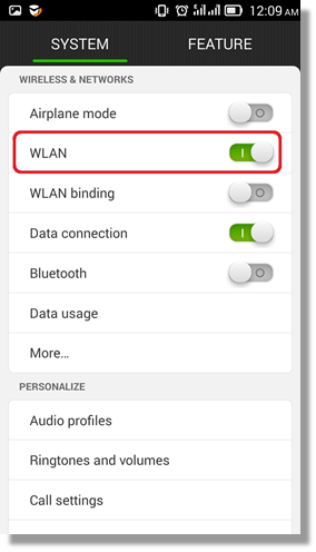 How to remove wireless profiles on Android phone/tablets