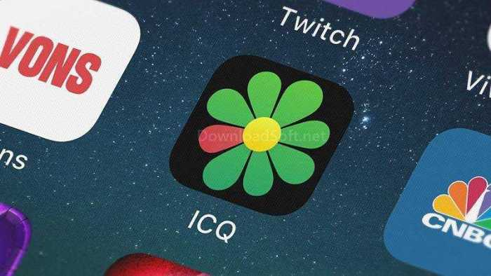 تحميل اي سي كيو ICQ 2019 للمحادثة الصوتية والفيديو مجانا
