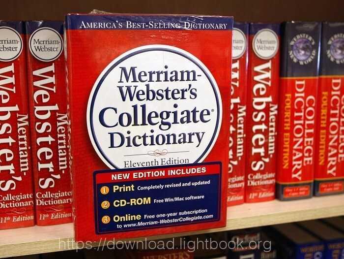Télécharger Merriam Webster Dictionary pour Android et iPhone