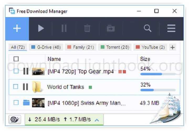 تحميل برنامج فري داونلود مانجر 2019 Free Download Manager