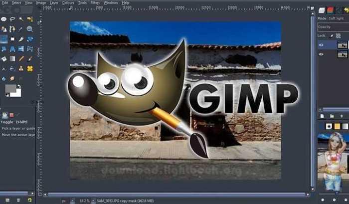 تحميل جيمب 2019 GIMP لتحرير كافة انواع الرسومات والصور مجانا