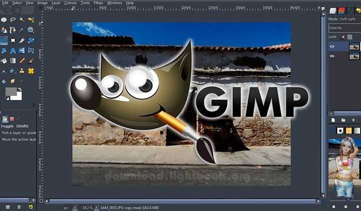 Download GIMP 2019 Edit all Kinds of Graphics & Images Free
