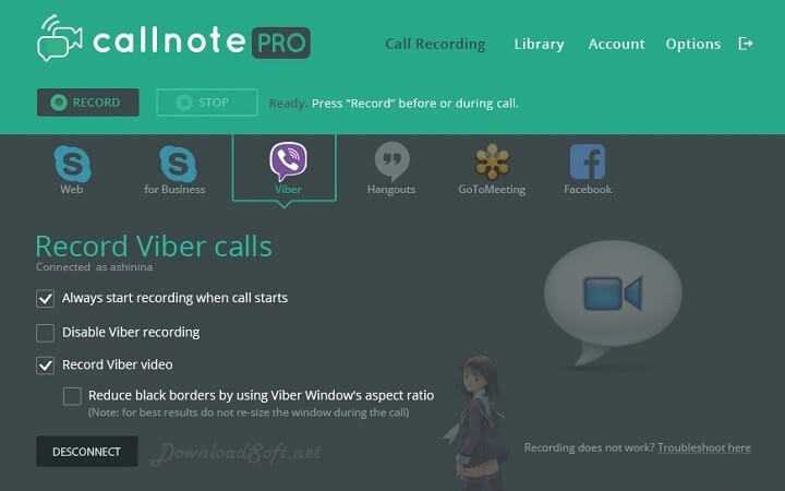 Descargar Callnote Video y Audio Call Recorder para PC y Mac