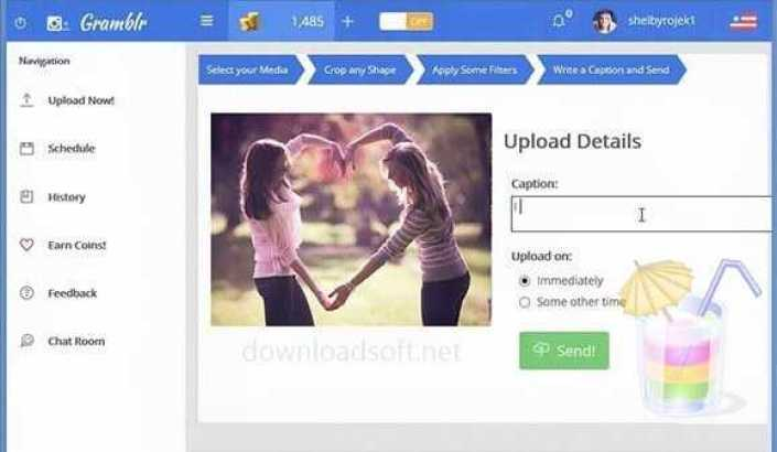 Download Gramblr Upload Photos & Videos from PC to Instagram