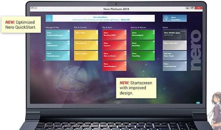 Descargar Nero Platinum 2019 Suite Grabar CD y DVD Gratis
