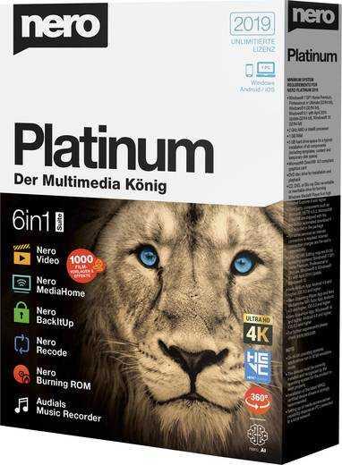Télécharger Nero Platinum 2019 Suite Graver des CD et DVD
