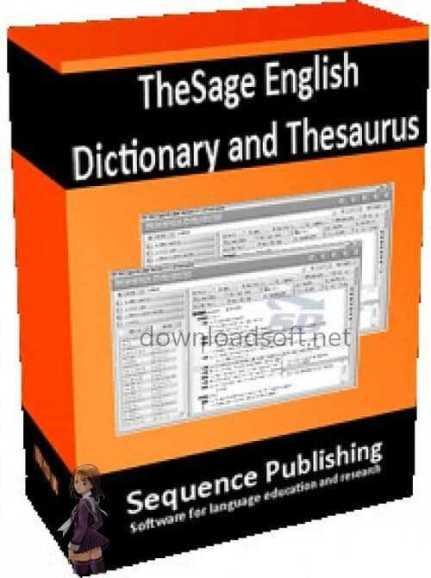 تحميل قاموس 2019 TheSage English Dictionary and Thesaurus مجانا
