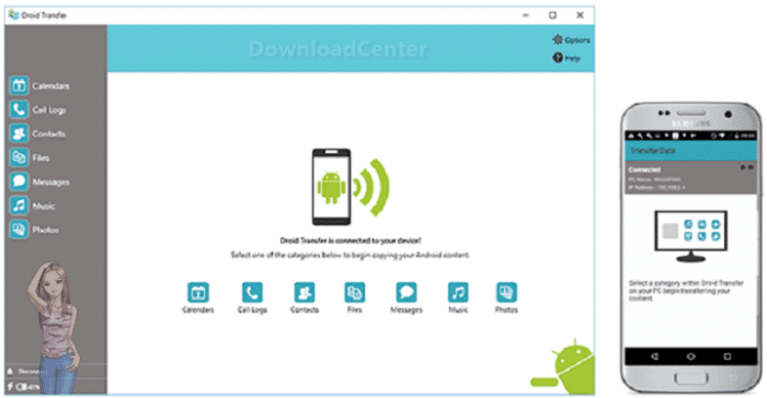 Download Droid Transfer SMS & MMS from Android to Your PC