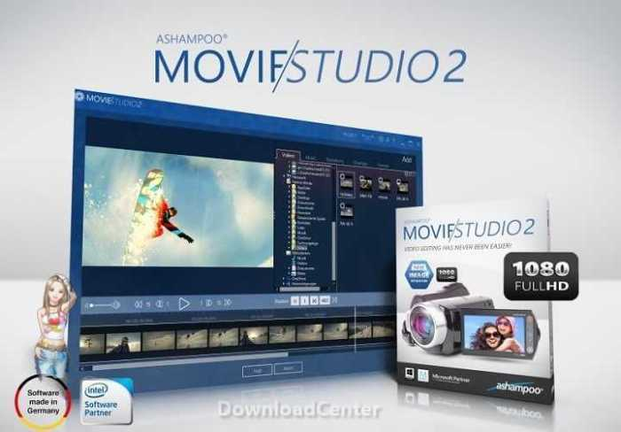 Download Ashampoo Movie Studio 2 to Create and Edit Video
