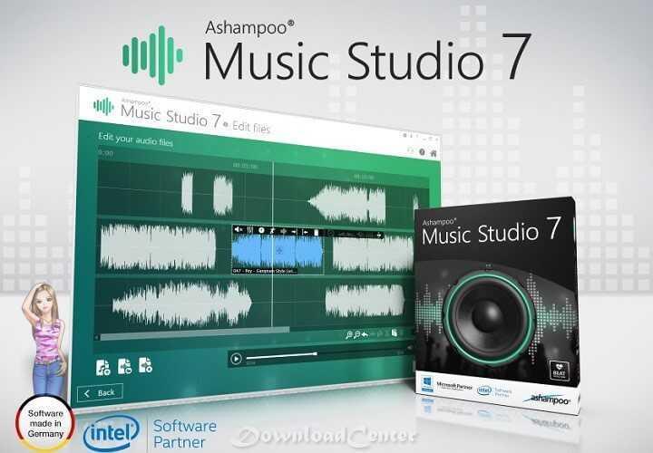 تحميل برنامج7 Ashampoo Music Studio لتحرير وتشغيل وحرق ملفاتMP3 مجاناً