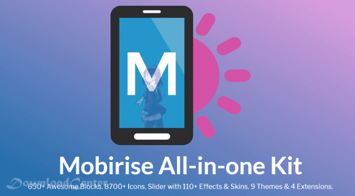 Download Mobirise - Create Free Websites for PC and Mac