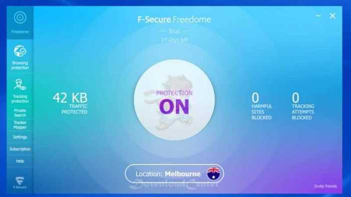 Download F-Secure Freedome VPN - Change Your IP Address