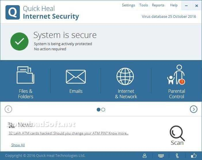 Download Quick Heal Internet Security Full Protect Your PC