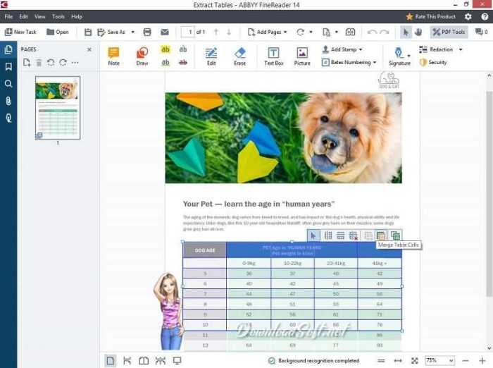 Download ABBYY FineReader PDF Scans All-In-One Software