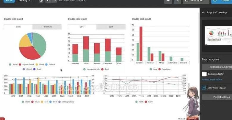 Photo of شرح Infogram أفضل خدمة مجانية لإنشاء رسوم بيانية مؤثرة