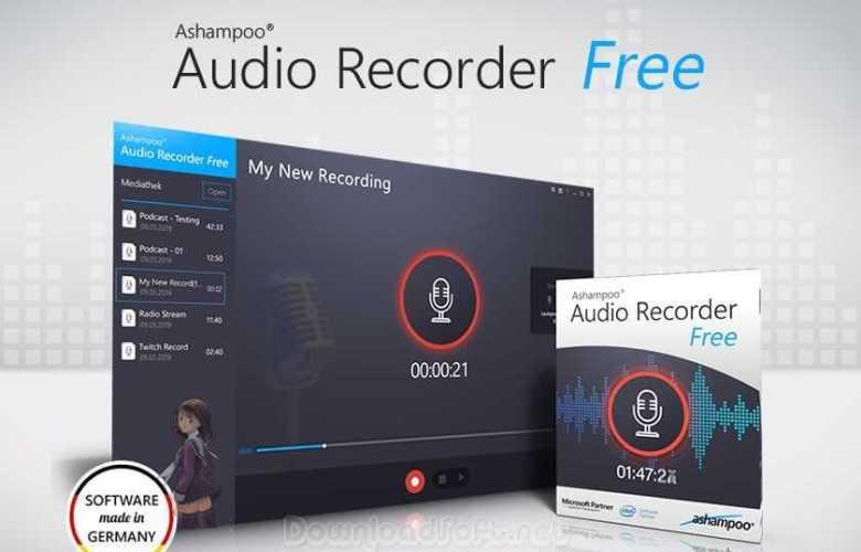 Download Ashampoo Audio Recorder Free - Latest 2019 Version