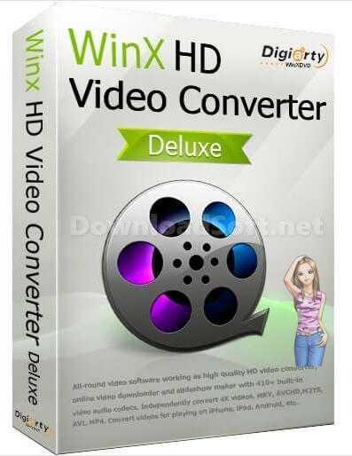 تحميل WinX HD Video Converter Deluxe لتحويلصيغ الفيديو